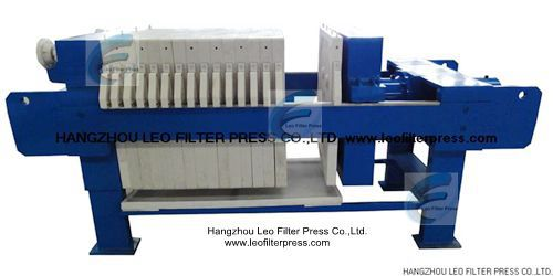 Leo Filter Press Plate and Frame Filter Press Construction and Operation Instructions